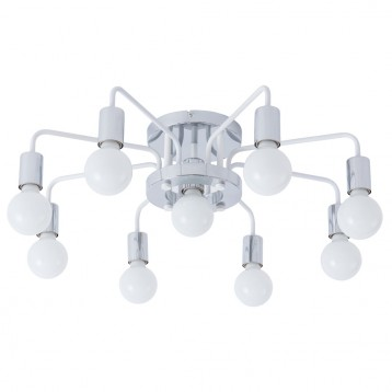 Светильник Arte Lamp GELO A6001PL-9WH