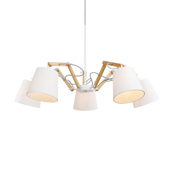 Люстра Arte Lamp Pinoccio A5700LM-5WH: фото