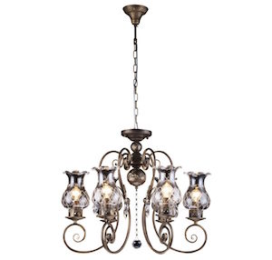 Люстра Arte Lamp Palermo A2053LM-6BR