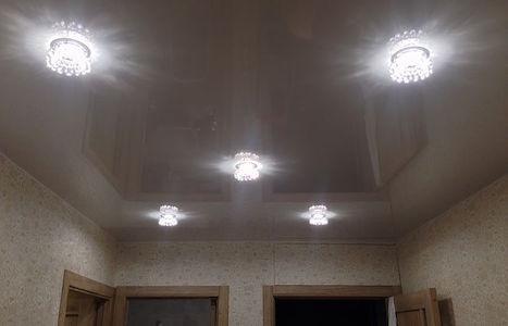 Подвесной потолок полукругом
